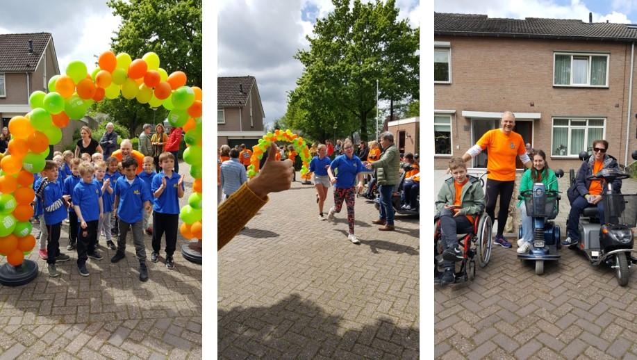 SBO Mozaik en Coppelle lopen voor het Prinses Beatrix Spierfonds